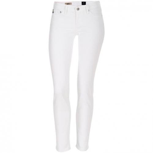 Adriano Goldschmied Jeans the stilt weiss