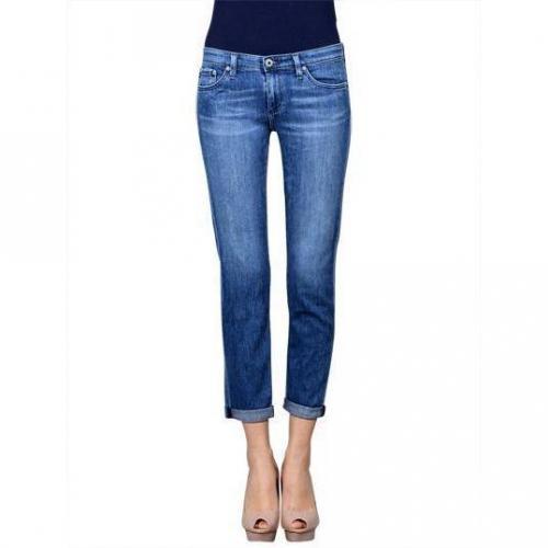 AG Adriano Goldschmied - Skinny Modell Stilt Roll Up Mai Farbe Blaue Waschung