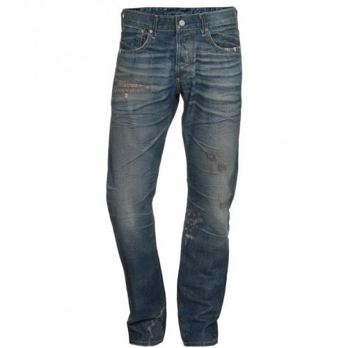 Ag Jeans Destroyed Blau