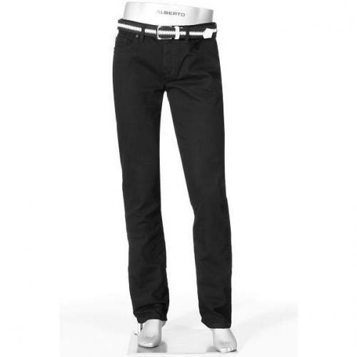 Alberto Jeans Slim Fit schwarz 1471/Pipe/999