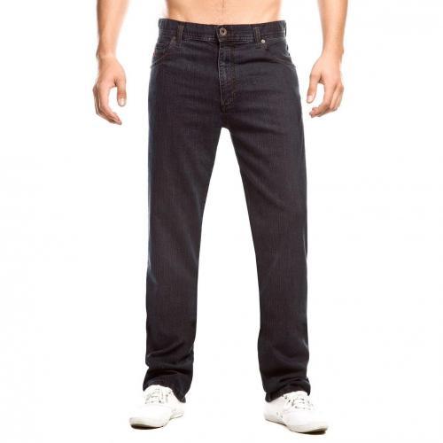 Alberto Stone Gerade Jeans Straight Fit Onewash Überlänge 40