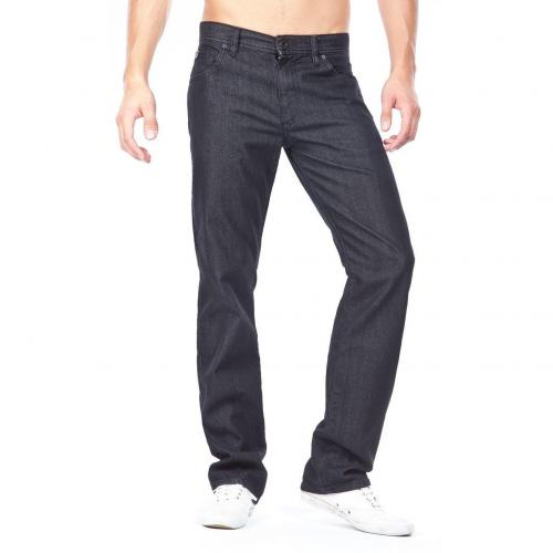 Alberto Stone Gerade Jeans Straight Fit Schwarz