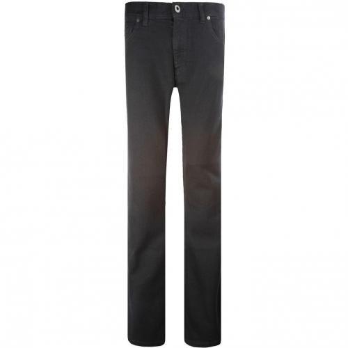 Alberto Stone Jeans Straight Fit Schwarz