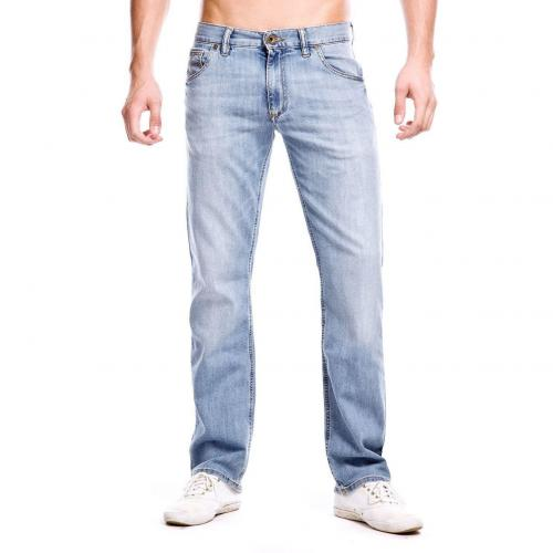 Alberto Stone Jeans Straight Fit Used