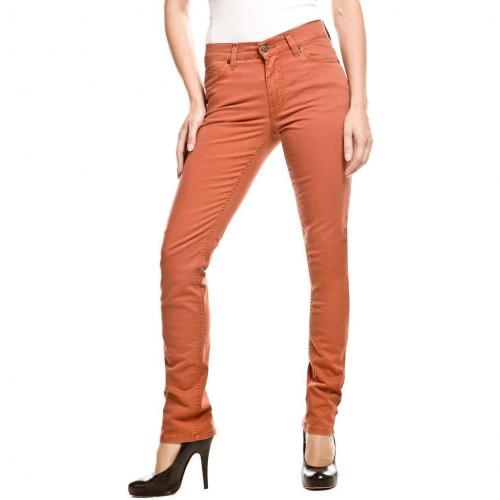 Angels Cici Jeans Straight Fit Orange
