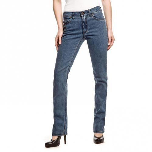 Angels Cici Jeans Straight Fit Stone