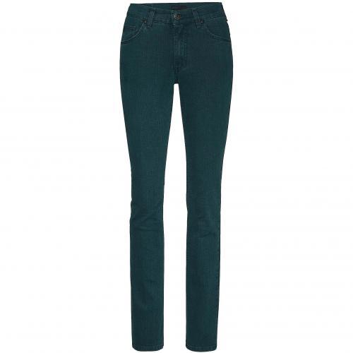 Angels Damen Jeans Cici extralanges Bein Blau Atlantic