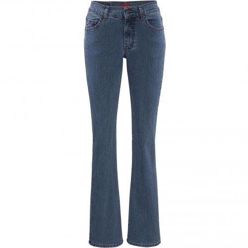 Angels Damen Jeans Luci Stoned Blue 32 Super Stone