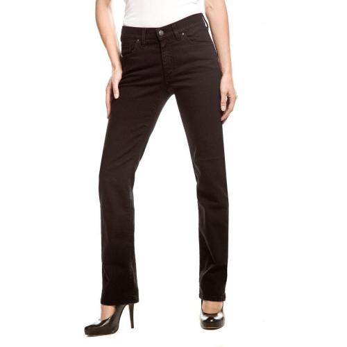 Angels Dolly Jeans Straight Fit Schwarz