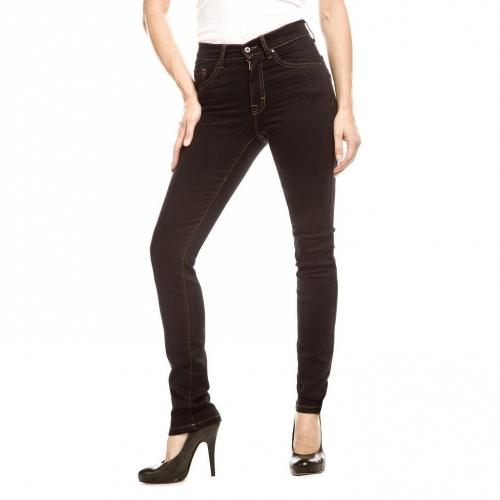 Angels Skinny Jeans Slim Fit Schwarz