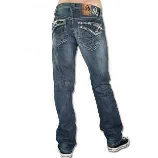 Antique Rivet Herren Jeans Scott
