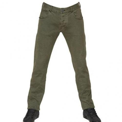 Armani Jeans - 18Cm Bull Stretch Dyed Jeans