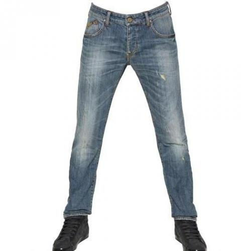 Armani Jeans - 18Cm Vintage Stretch Denim Jeans