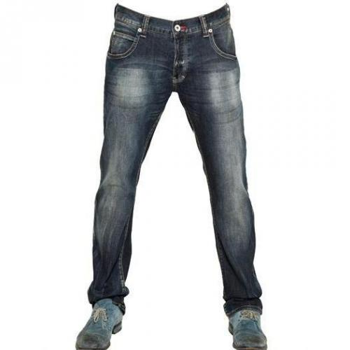 Armani Jeans - 19,5Cm Low Waist Stretch Denim Jeans