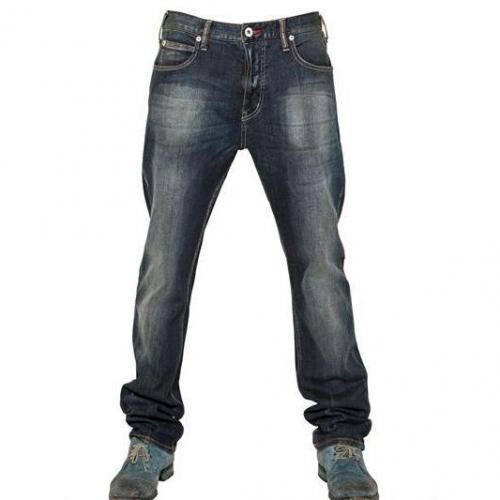 Armani Jeans - 19,5Cm Regular Denim Stretch Jeans