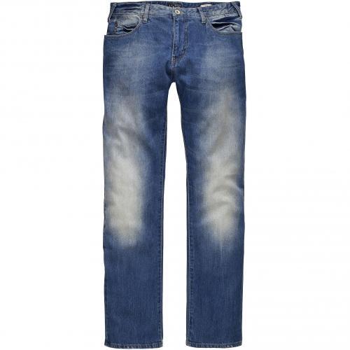 Armani Jeans Herren Jeans J45 Blue Washed