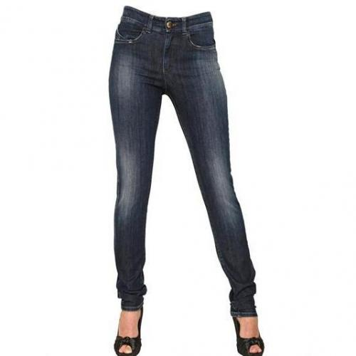 Armani Jeans - High Waisted Denim Stretch Skinny Jeans