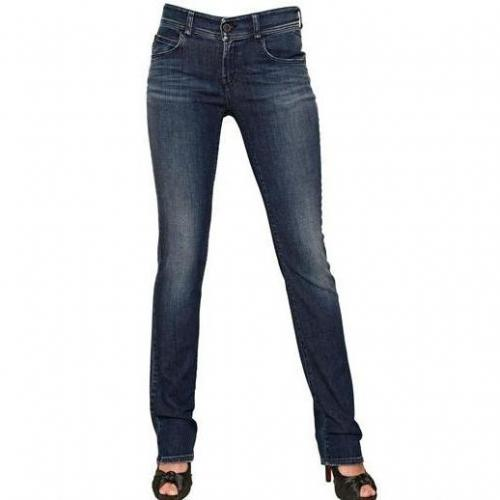 Armani Jeans - Regular Waist Denim Stretch Jeans