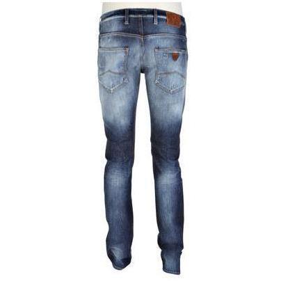 Armani Jeans Röhrenjeans Blue Washed