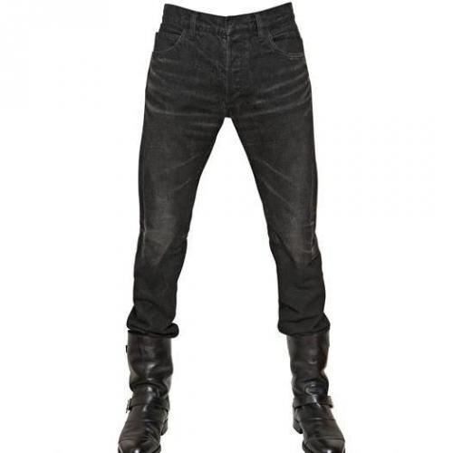 Balmain - 17Cm 3D Used Denim Jeans