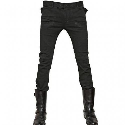 Balmain - 18Cm Extra Slim Stretch Denim Jeans
