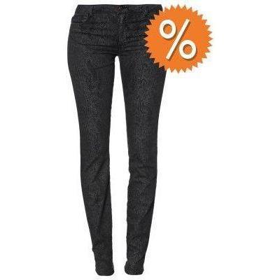 Bel Air PYTHON Jeans noir