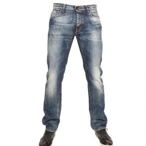 Bikkembergs - Fünf Taschen Denim Jeans