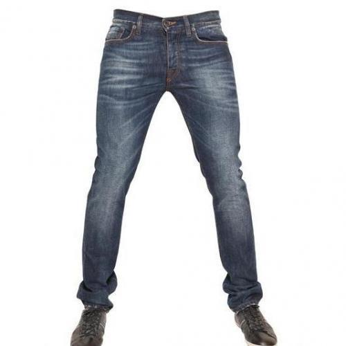 Bikkembergs - Fünf Taschen Denim Jeans Blue