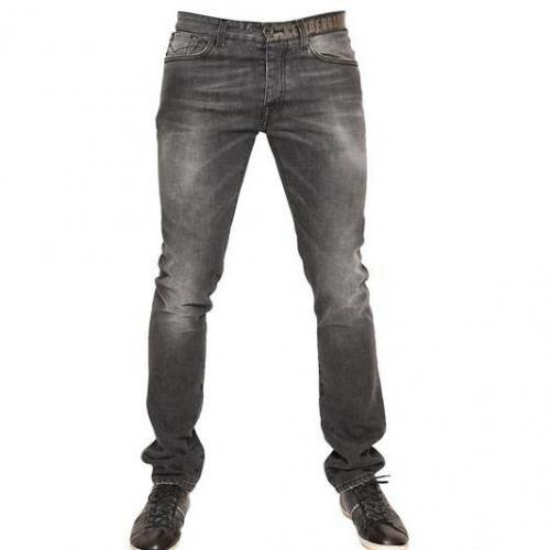 Bikkembergs - Sichtbares Logo Denim Jeans