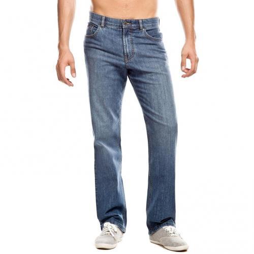 Brax Carlos Jeans Straight Fit Stone Used Überlänge 38