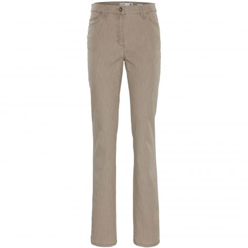 BRAX Damen Jeans Mary Sport Sand 58 Cream