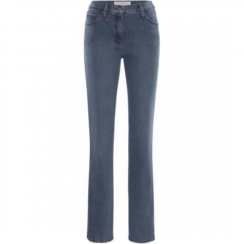 BRAX Damen Jeans Mary Stoned Blue 27 Blue