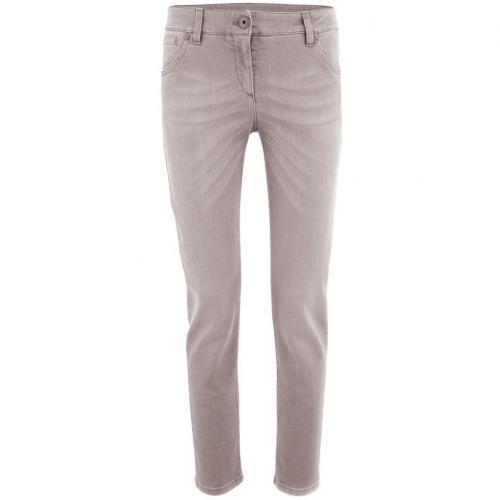 Brunello Cucinelli Taupe Washed Jeans