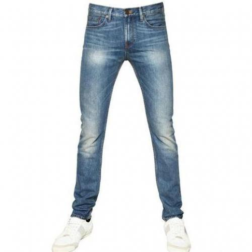 Burberry Brit - 17Cm Skinny Fit Washed Denim Jeans