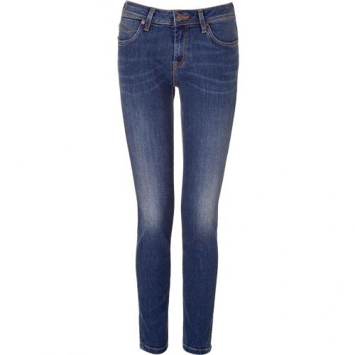 Burberry Brit Denim Blue Skinny Leg Jeans