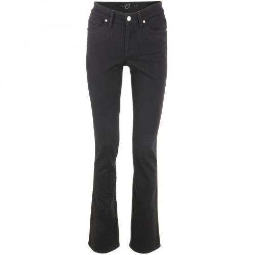Cambio Blue Straight Leg Jeans Parla
