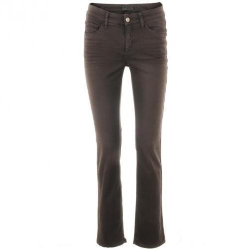 Cambio Mocca Straight Leg Jeans Parla