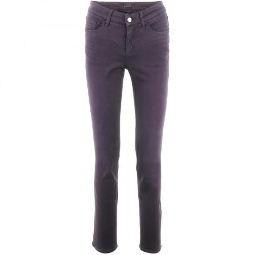 Cambio Purple Straight Leg Jeans Parla