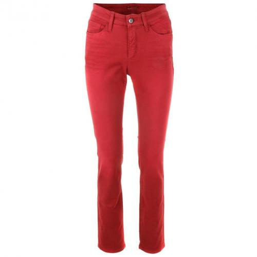 Cambio Red Straight Leg Jeans Parla