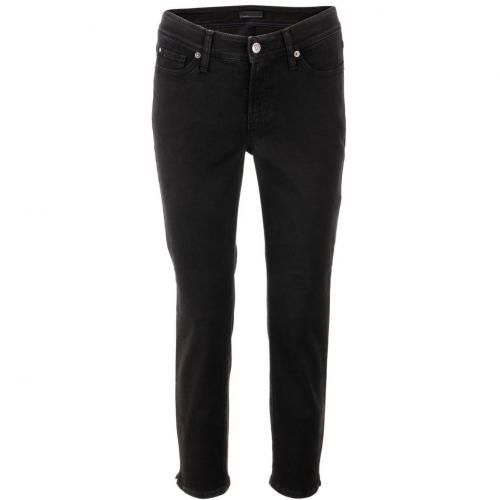 Cambio Washed Black Jeans Piper