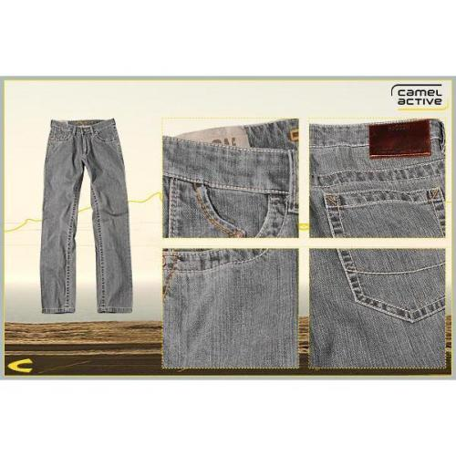 camel active 5-Pocket Hudson grau 488780/5925/05