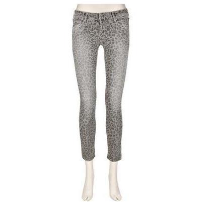 Cimarron Jeans Jackie Cropped Leopard