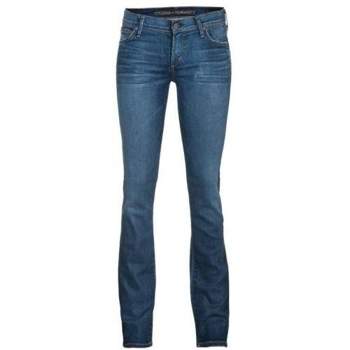 Citizens Of Humanity Ava Low Rise Straight Blau
