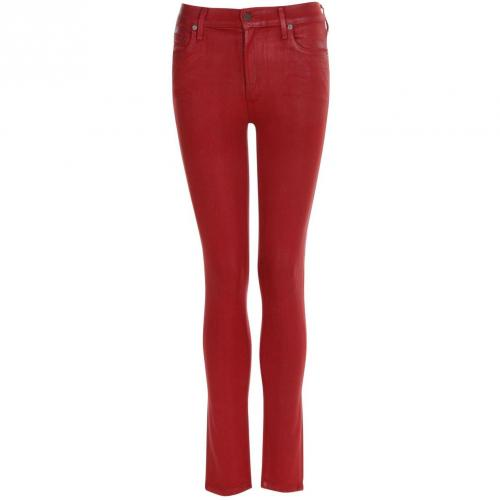 Citizens of Humanity Jeans ROCKET dunkelrot