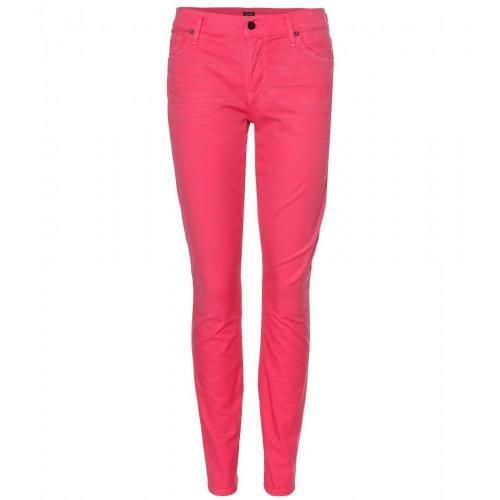 Citizens of Humanity Thompson Medium Rise Jeans Shocking Pink