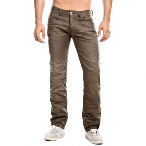 Cross Jack Jeans Straight Fit Khaki
