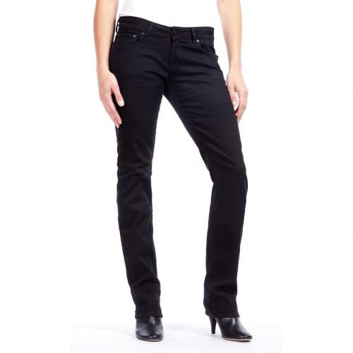 Cross Jeans Carmen Straight Fit Schwarz