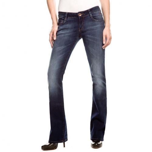 Cross Jeans Laura Bootcut Dark Stone Used Überlänge 36