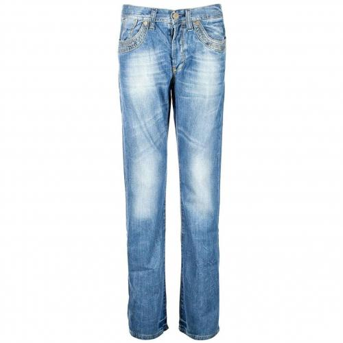 Cross Jeans Lorenzo Straight Fit Stone Used