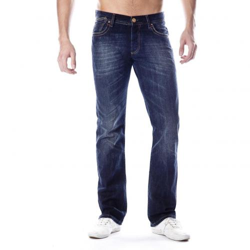 Cross Jeans Luigi Straight Fit Dark Used Straight Fit